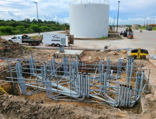 Distribution Center – Utility work